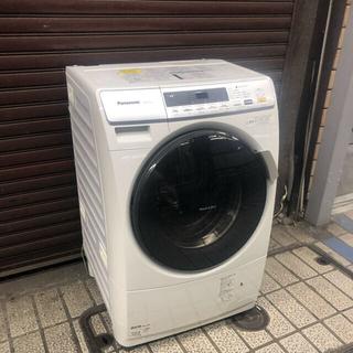パナソニック(Panasonic)の(ジャスティス様専用)ドラム式洗濯乾燥機 NA-VD110L 2012年製 (洗濯機)