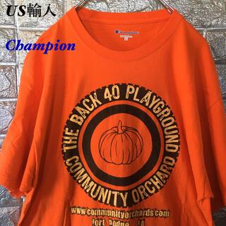 チャンピオン(Champion)の【US輸入】Champion Tシャツ 企業Tシャツ コミュニティ果樹園(Tシャツ/カットソー(半袖/袖なし))