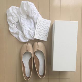 マルタンマルジェラ(Maison Martin Margiela)の正規品 メゾンマルジェラ 足袋バレエシューズ(バレエシューズ)