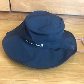 モンベル(mont bell)の【美品】mont-bell  モンベル 帽子 ハット レディース(ハット)