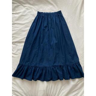 グリモワール(Grimoire)のvintage denim skirt(ロングスカート)
