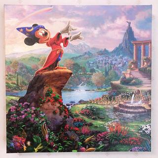 ディズニー(Disney)のトーマスキンケード ディズニー ソーサラーミッキー キャンバス アート 絵画(絵画/タペストリー)