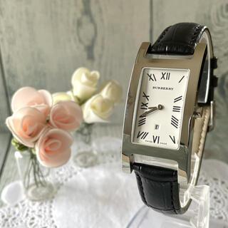 バーバリー(BURBERRY)の【動作OK】BURBERRY バーバリー 腕時計 レクタンギュラ 14000G(腕時計(アナログ))