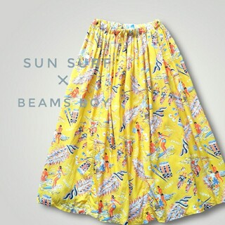 ビームスボーイ(BEAMS BOY)のサンサーフ ビームスボーイ SUN SURF×BEAMS BOY アロハスカート(ロングスカート)