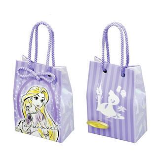 ディズニー(Disney)のディズニー ショッピングバッグ型 オルゴール ラプンツェル   紙袋(オルゴール)