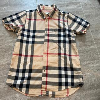 バーバリー(BURBERRY)のバーバリー 半袖ボタンダウンシャツ サイズ8(ブラウス)
