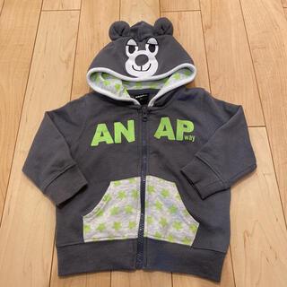アナップキッズ(ANAP Kids)のANAP クマさんパーカー90(ジャケット/上着)