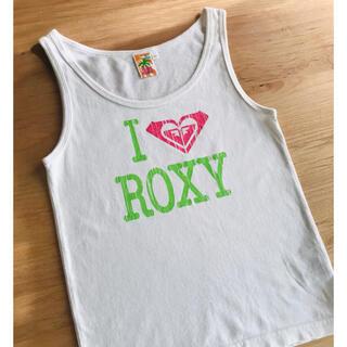 ロキシー(Roxy)のROXY ✨タンクトップ 140 トップス 白 女の子(Tシャツ/カットソー)