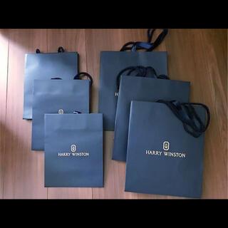 HARRY WINSTON - ハリーウィンストン 紙袋 6枚セット