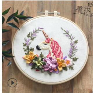 オリンパス(OLYMPUS)の刺繍キット ペガサス(生地/糸)