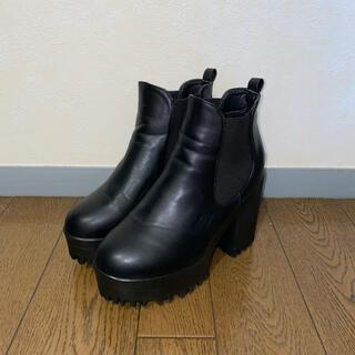 グレイル(GRL)のGRL 厚底ショートブーツ(ブーツ)