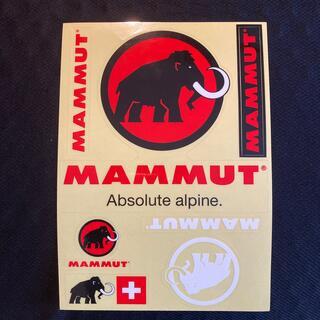 マムート(Mammut)のマムート ステッカー 白(その他)