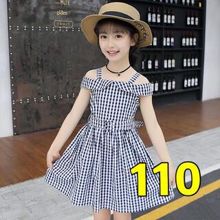 ラスト1点 新品 110春 夏 ワンピース(ワンピース)