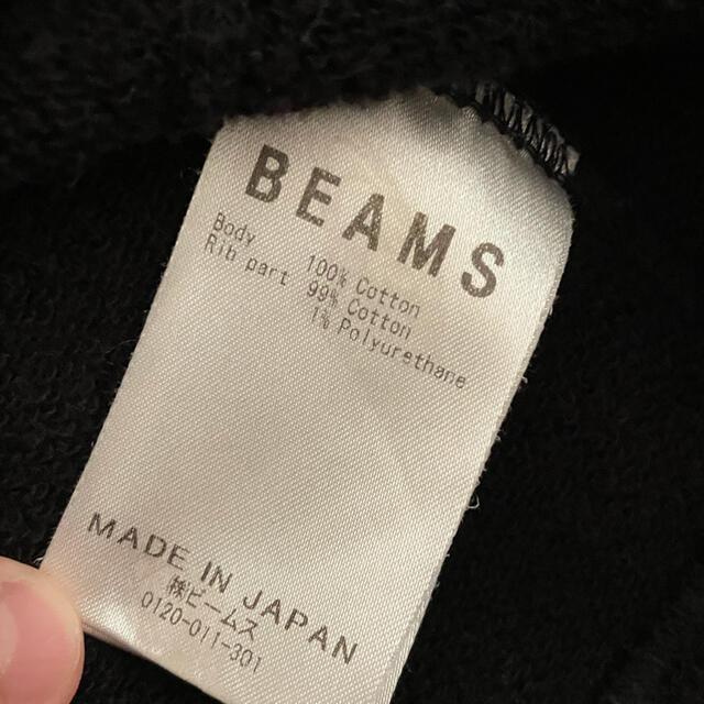 BEAMS(ビームス)のBEAMS ロゴ スウェット♪ビームス L メンズのトップス(スウェット)の商品写真