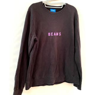 ビームス(BEAMS)のBEAMS ロゴ スウェット♪ビームス L(スウェット)