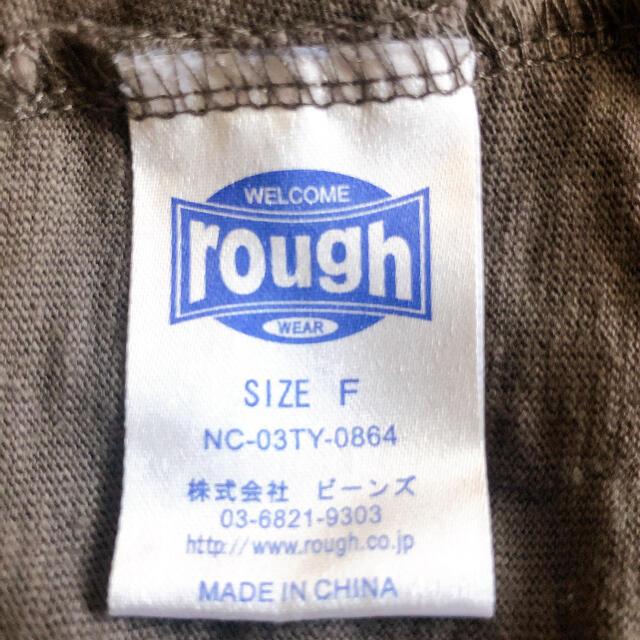 rough(ラフ)の値下げしました‼️roughロングTシャツ レディースのトップス(Tシャツ(半袖/袖なし))の商品写真