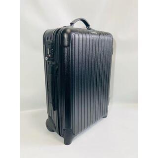 リモワ(RIMOWA)の【美品、廃盤】リモワ スーツケース 黒 サルサ(旅行用品)