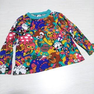 グラグラ(GrandGround)のグラグラ 総柄デザイン 長袖Tシャツ(Tシャツ/カットソー)
