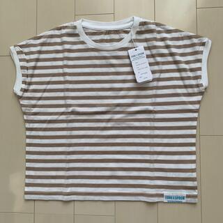 ドアーズ(DOORS / URBAN RESEARCH)の未使用 アーバンリサーチ キッズ☆ ボーダーTシャツ 120センチ(Tシャツ/カットソー)