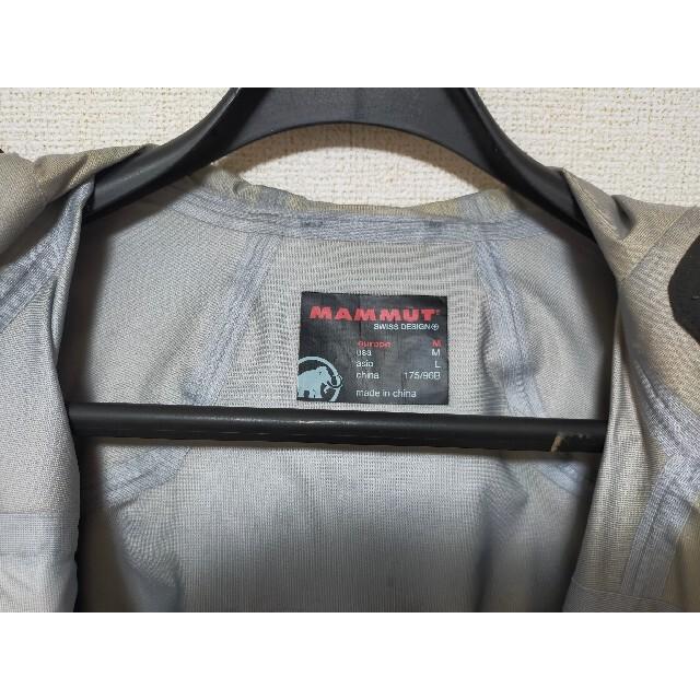 Mammut(マムート)のMAMMUT GORE-TEX ジャケット マムート ゴアテックス メンズのジャケット/アウター(マウンテンパーカー)の商品写真