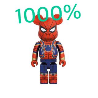 メディコムトイ(MEDICOM TOY)のBE@RBRICK IRON SPIDER 1000%(キャラクターグッズ)