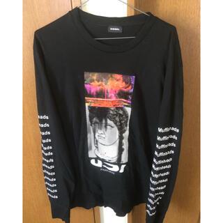 ディーゼル(DIESEL)のdiesel ディーゼル Tシャツ ロング 中古 サイズL(Tシャツ/カットソー(七分/長袖))