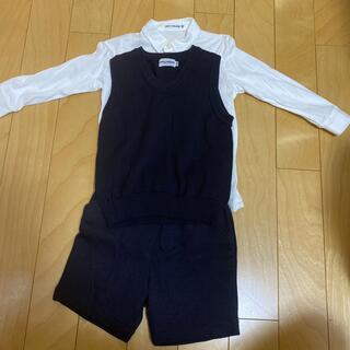 ミキハウス(mikihouse)のミキハウス お受験、習い事用セットアップ 100センチ(ドレス/フォーマル)