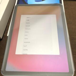 アイパッド(iPad)のApple交換品未使用 iPad Air4  256GSIMフリー(タブレット)