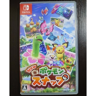 ニンテンドースイッチ(Nintendo Switch)のNew ポケモンスナップ Switch ソフト(家庭用ゲームソフト)