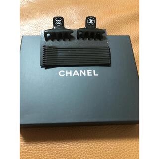 シャネル(CHANEL)のシャネル ノベルティヘア クリップ 箱付き(ヘアピン)