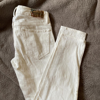 デニムアンドサプライラルフローレン(Denim & Supply Ralph Lauren)のラルフローレン ホワイトデニム 24インチ(デニム/ジーンズ)