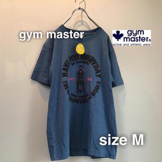 ジムマスター(GYM MASTER)のgym master ジムマスター Tシャツ M ディープブルー 立体プリント(Tシャツ/カットソー(半袖/袖なし))