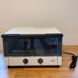 タイガー(TIGER)のTIGER オーブントースターやきたて KAM-R130WM(調理機器)