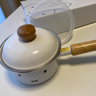 フジホーロー(富士ホーロー)のミッフィーフェイス 12cmソースパン(鍋/フライパン)