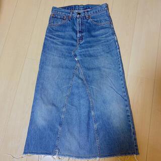 リーバイス(Levi's)のLEVI'S デニム ロング スカート(ロングスカート)