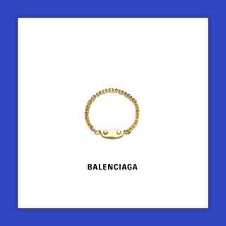 バレンシアガ(Balenciaga)のBalenciaga バレンシアガ CITY STUDS CHAIN RING(リング(指輪))