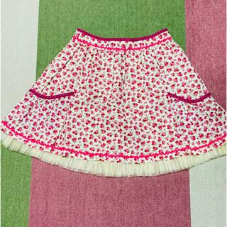 エミリーテンプルキュート(Emily Temple cute)のEmily Temple Cute 花柄スカート エミキュ(ひざ丈スカート)