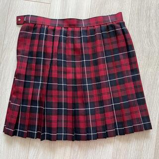 セシール(cecile)の【新品】チェック プリーツ スカート (ミニスカート)