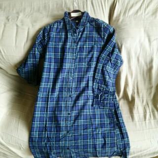 ムジルシリョウヒン(MUJI (無印良品))の 授乳服  無印良品  ネルシャツワンピース(マタニティウェア)