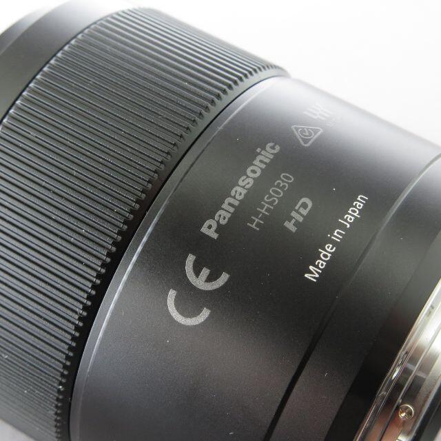 Panasonic(パナソニック)のパナソニック LUMIX G MACRO30mm F2.8ASPH スマホ/家電/カメラのカメラ(レンズ(単焦点))の商品写真