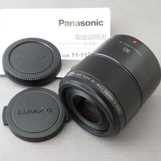 Panasonic - パナソニック LUMIX G MACRO30mm F2.8ASPH