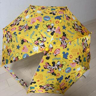ディズニー(Disney)の【新品】子供用傘 ミッキー ミニー(傘)