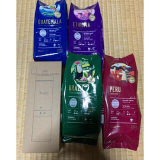 タリーズコーヒー(TULLY'S COFFEE)のタリーズ 限定コーヒー未開封 コーヒーミル1度使用(コーヒー)