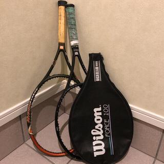 ウィルソン(wilson)のテニスラケット 2本(ラケット)