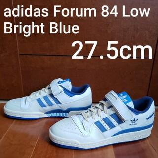 アディダス(adidas)のadidas Forum 84 Low Bright Blue 27.5cm(スニーカー)