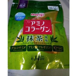 明治 - 明治アミノコラーゲン抹茶風味です。