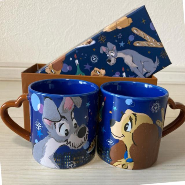 Disney(ディズニー)のわんわん物語 マグカップ インテリア/住まい/日用品のキッチン/食器(グラス/カップ)の商品写真