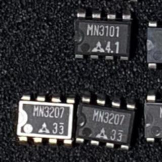 松下製 MN3207 x 2 + MN3101 x 1  set(エフェクター)