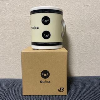 JR - Suica マグカップ コップ グラス インテリア ペンギン 鉄道 JR 東日本