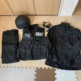 SWAT コスプレ 5点セット(衣装一式)